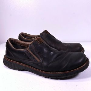 Merrell Realm Moc Slip On Loafers Leather Shoes